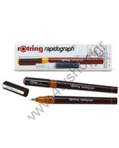 Rotring rapidograph technical pen  06mm