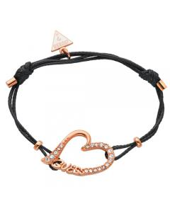 Bracelet Guess Black Leather-demo