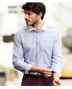 Blue Fitted Shirt-demo
