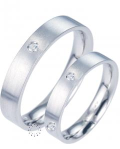 Platinum Wedding Rings 14K-demo