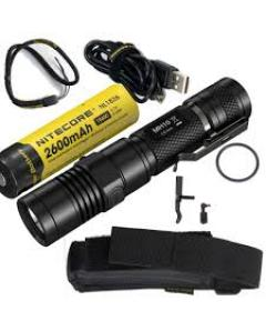 Led Flashlight Nitecore MH10, rechargeable