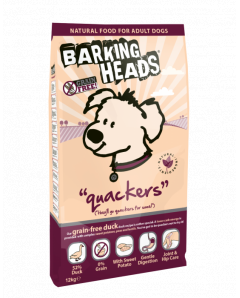 QUACKERS DUCK GRAIN FREE 12KG