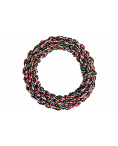 Cotton ring  20 cm multicoloured-black