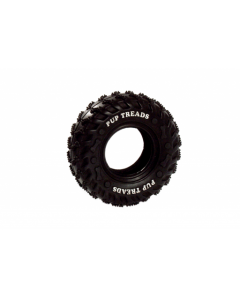 Ruffus solid rubber tyres  15 cm black