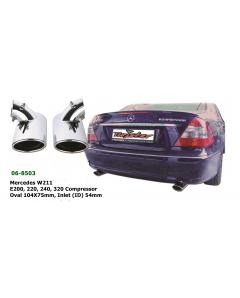 Mercedes E Class Exhaust Tip Set