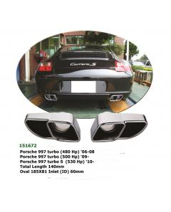 Exhaust Pipe for Porsche Carrera 997 turbo 04-