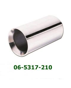 Universal Stainless Steel Exhaust Tip Round D89 L190