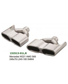 Mercedes S65 Look Exhaust Tips