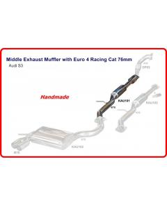 MIDDLE SECTION FOR  AUDI S3 WITH RACING CAT