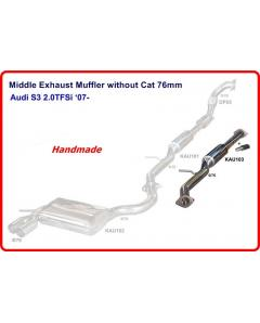 MIDDLE SECTION FOR Audi A3 Mk2 8P 03-13, AUDI S3  WITHOUT CAT