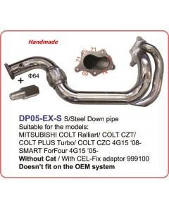DOWN PIPE 64mm SMART ForFour 4G15 05-