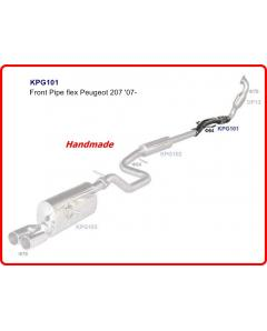 Peugeot 207207RC 1.6T 07- Front Exhaust Pipe
