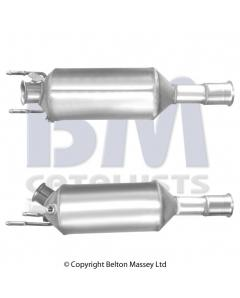 Diesel Particulate Filters - SiC DPF CITROEN C-CROSSER 2.2HDi DW12MTED4 engine 707-411 Euro 4 DPF only