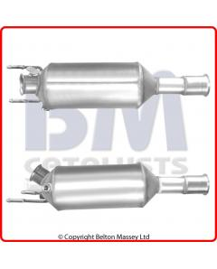 Diesel Particulate Filters - DPF CITROEN C-CROSSER 2.2HDi DW12MTED4 engine 707-411 Euro 4 DPF only