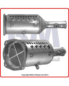 Diesel Particulate Filters - SiC DPF CITROEN C4 2.0HDi DW10BTED4 eng 104-707 Euro 3-4 DPF only