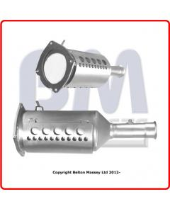 Diesel Particulate Filters - DPF CITROEN C4 2.0HDi 5dr DW10BTED4 engine 707-1108 Euro 4 DPF only