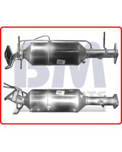 Φίλτρο Μικροσωματιδίων - Approved SiC DPF MAZDA 3 2.0TD RF7J engine 12 06- Euro 4 CatDPF combined