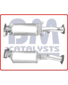 Diesel Particulate Filters - SiC DPF HONDA CR-V 2.2 I-CDTi N22A2 Engine 1 07 -  Euro 4 DPF only