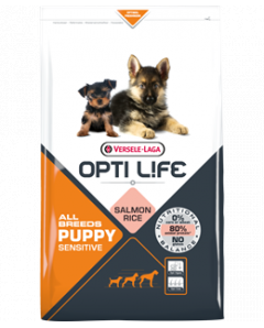 OPTI LIFE PUPPY SALMON ALL BREED 12.5KG