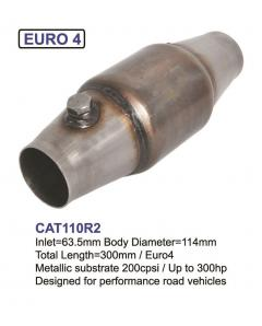 Tuning Catalytic Converter for more than 200HP, 200CPSI, Euro 43