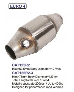 Tuning Catalytic Converter for more than 400HP, 200 CPSI, Euro 4