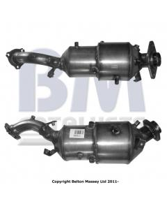Diesel Particulate Filters - DPF LEXUS IS220D 2.2TD 2AD-FHV engine 10-05 - Euro 4 Cat-DPF combined
