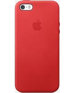 Apple Back Cover Leather Red iPhone 55sSE