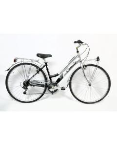 ΠΟΔΗΛΑΤΟ CINZIA 28 CTB PROMENADE LADY 6 SP REVO SHIFT V-BRAKE ALL. BLACKSILVER