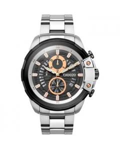 BREEZE Artisan Chronograph Silver Stainless Steel Bracelet Κωδικός Μοντέλου 610742.2
