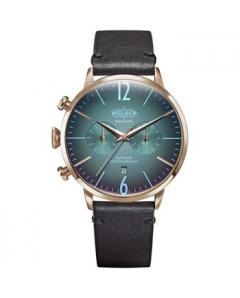 WELDER Moody Dual Time Black Leather Strap Κωδικός Μοντέλου WWRC306