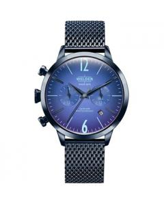 WELDER Moody Dual Time Blue Metallic Bracelet Κωδικός Μοντέλου WWRC414