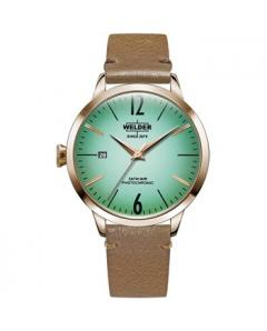 WELDER Moody Brown Leather Strap Μοντέλο WRC110