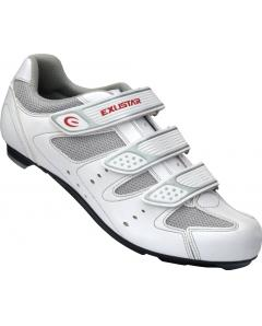 EXUSTAR E-SR442WH ROAD CYCLING SHOES