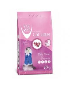 VAN CAT SUPER WHITE  CLUMPING BABY POWDER 10kg
