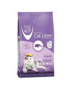 VAN CAT SUPER WHITE  CLUMPING LAVENDER