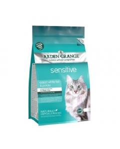 Ξηρά τροφή Arden Grange Cat Adult Grain Free Sensitive με Ψάρι 2kg