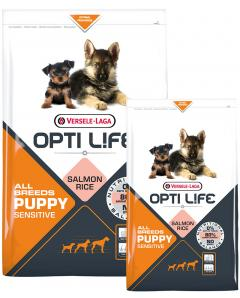 OPTI LIFE PUPPY SALMON ALL BREED 2.5KG