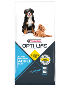 OPTI LIFE MAXI MEDIUM LIGHT  ΚΟΤΟΠΟΥΛΟ 12.5KG