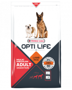 OPTI LIFE MAXI MEDIUM LAMB 12.5KG