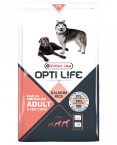 OPTI LIFE MAXI MEDIUM SALMON 12.5KG