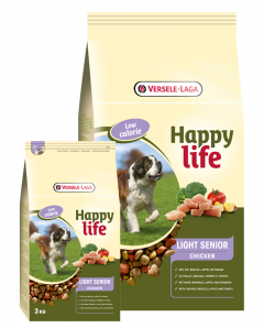 HAPPY LIFE LIGHT SENIOR 3KG