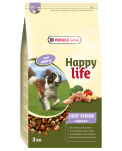 HAPP LIFE LIGHT SENIOR 15KG