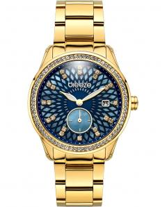 BREEZE 210831.3 Camellia Swarovski Gold Stainless Steel Bracelet