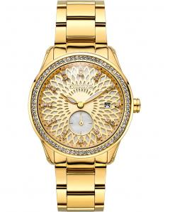 BREEZE 210831.2 Camellia Swarovski Gold Stainless Steel Bracelet