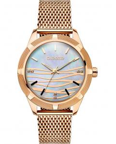 BREEZE 210651.5 Felicity Crystals Rose Gold Stainless Steel Bracelet