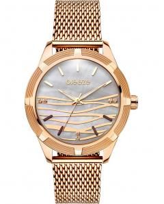 BREEZE 210651.4 Felicity Crystals Rose Gold Stainless Steel Bracelet