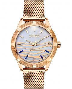 BREEZE 210651.3 Felicity Crystals Rose Gold Stainless Steel Bracelet