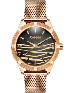 BREEZE 210651.2 Felicity Crystals Rose Gold Stainless Steel Bracelet