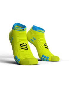 COMPRESSPORT V3 LO RUN PRO RACING SOCKS -fluo Κίτρινη