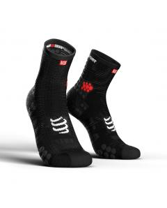 COMPRESSPORT V3 HI SMART RUN SOCKS -Μαυρη